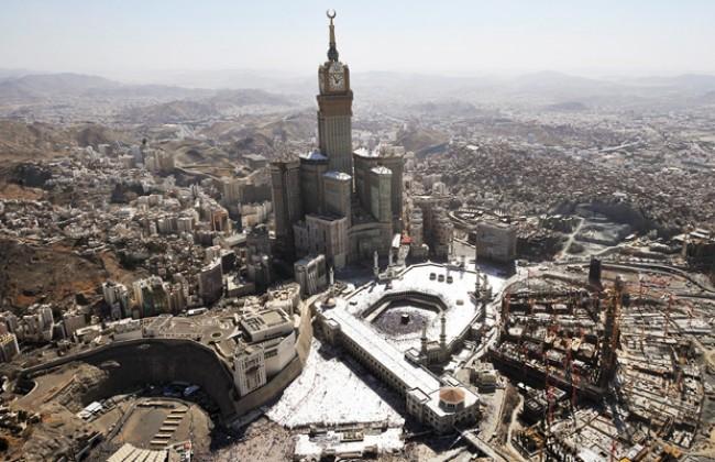 peta lokasi kabah di makkah
